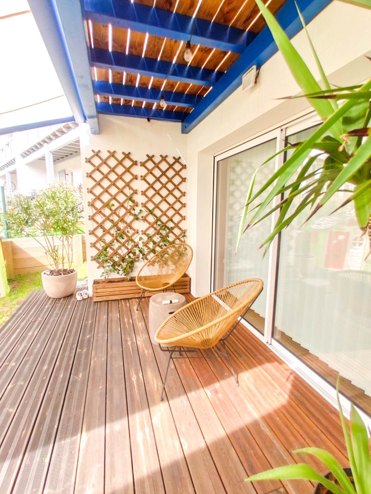 terrasse maison à vendre ascain